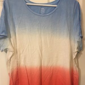 🌟Old Navy Americana Tie dyed T🌟 New condition!